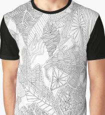 Autumn Leaves, Rydal Water Graphic T-Shirt