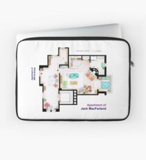 """Jack MacFarland's apartment from """"Will & Grace"""" Laptop Sleeve"""