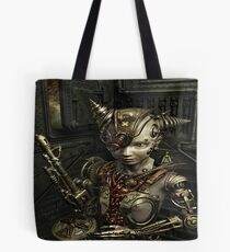 Steampunk Morphing Tote Bag