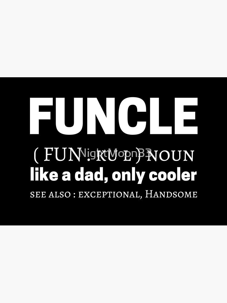 Funcle Meme Quotes Dictionary Definición Significado Vinilo Para Portátil