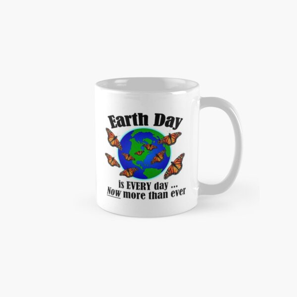 Monarch Butterfly Earth Day Mug Classic Mug