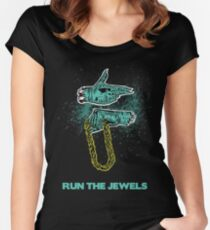 Run the Jewels Dead Women's Fitted Scoop T-Shirt