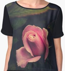 Roses are red that part is true,  but violets are violet; not f**king blue. Women's Chiffon Top