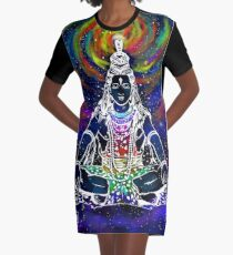 Shiva ( Hindu ) Graphic T-Shirt Dress