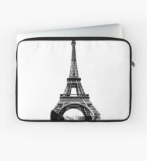 Eiffel Tower Digital Engraving Laptop Sleeve