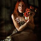 red hair and black leather my favourite color scheme by annacuypers