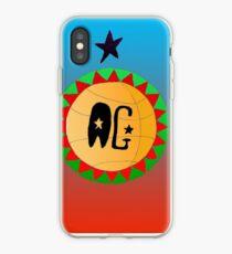 Basketball AG design iPhone Case