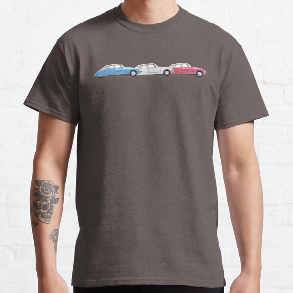 Citroen DS - Tricolore Classic T-Shirt
