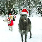 christmas dugs o the past by joak