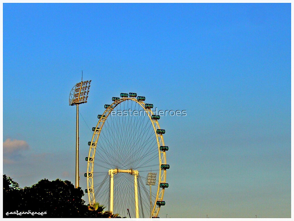 Singapore Flyer by easternHeroes