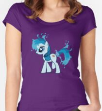 Pony Squirt Water Women's Fitted Scoop T-Shirt