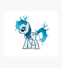Pony Squirt Water Photographic Print