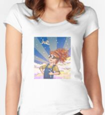 Engineer Girl Women's Fitted Scoop T-Shirt