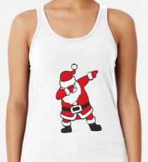 Dabbin Santa Women's Tank Top