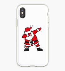 Dabbin Santa iPhone Case