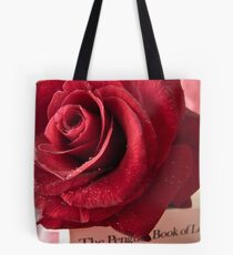 My Love Is like a Red Red Rose Tote Bag