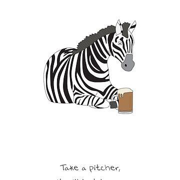 Zebra Card (Generic) by maxhornewood