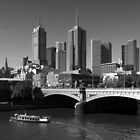 Melbourne Skyline by Ben Loveday