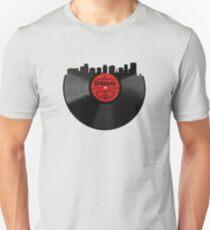 5e4bbde219c Orlando Florida Vinyl Record Vintage Skyline Design Unisex T-Shirt