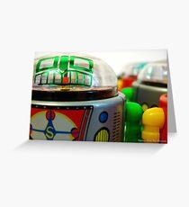 art robot 1 Greeting Card