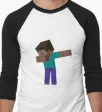 Minecraft Dab!!! Men's Baseball ¾ T-Shirt