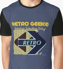Retro Geek - Yesterday's Technology Today! Graphic T-Shirt