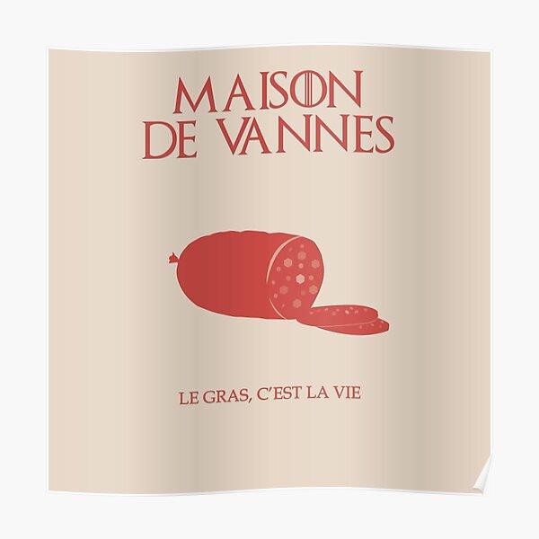 Maison de Vannes - Kaamelott Poster