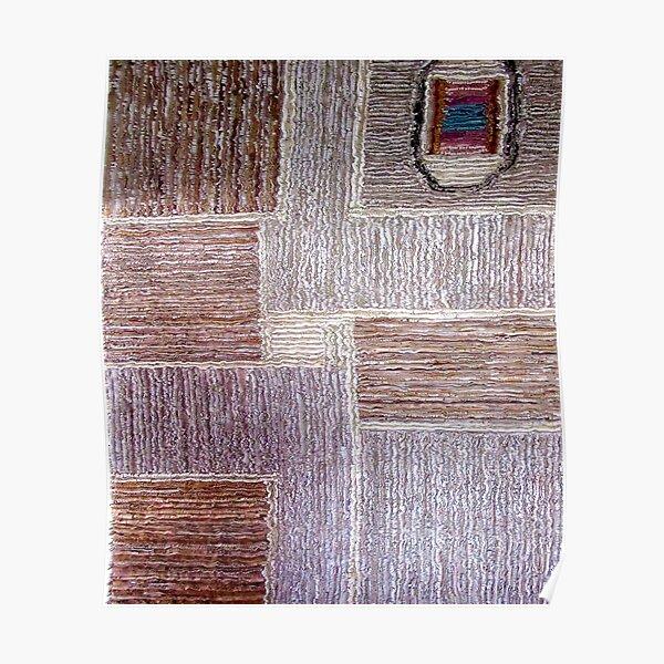 Original leather carpet craft Poster