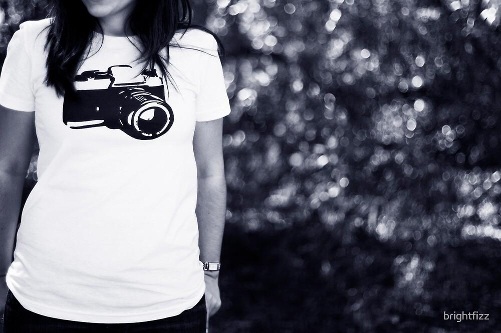The Camera Tee by brightfizz
