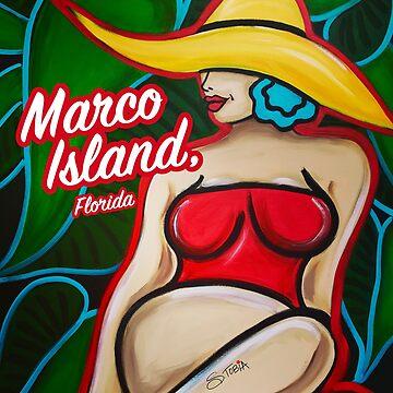 Strand-Baby - Marco Island, FL von Susantobiaart