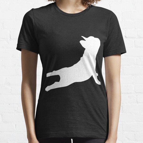 French Bulldog Yoga | Funny French Bulldog Gifts Essential T-Shirt
