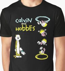 Calvin and Hobbes Portal Graphic T-Shirt