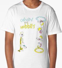 Calvin and Hobbes Portal Long T-Shirt