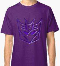 3D Transformers Logo - Decepticon Classic T-Shirt