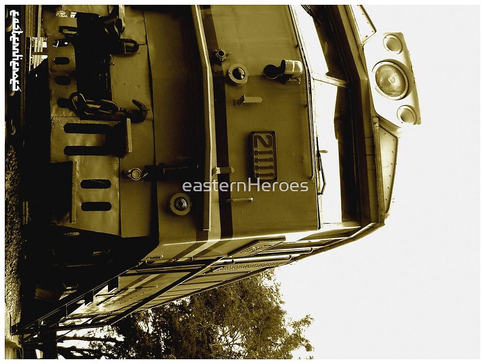 Train sepia II by easternHeroes