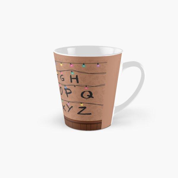 Stranger Things Alphabet Wall Tall Mug