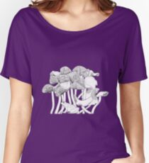 Mushrooms and Toad Women's Relaxed Fit T-Shirt