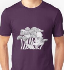 Mushrooms and Toad Unisex T-Shirt