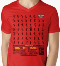 Dead Run: A Game On A Tee Men's V-Neck T-Shirt