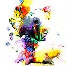 Colour field I by Jacki Stokes
