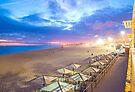 Carcavelos beach lights. sunset by terezadelpilar ~ art & architecture