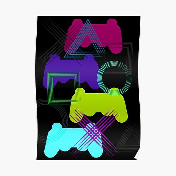 Neon Gaming Poster