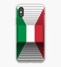 Italian flag 3d iPhone Case