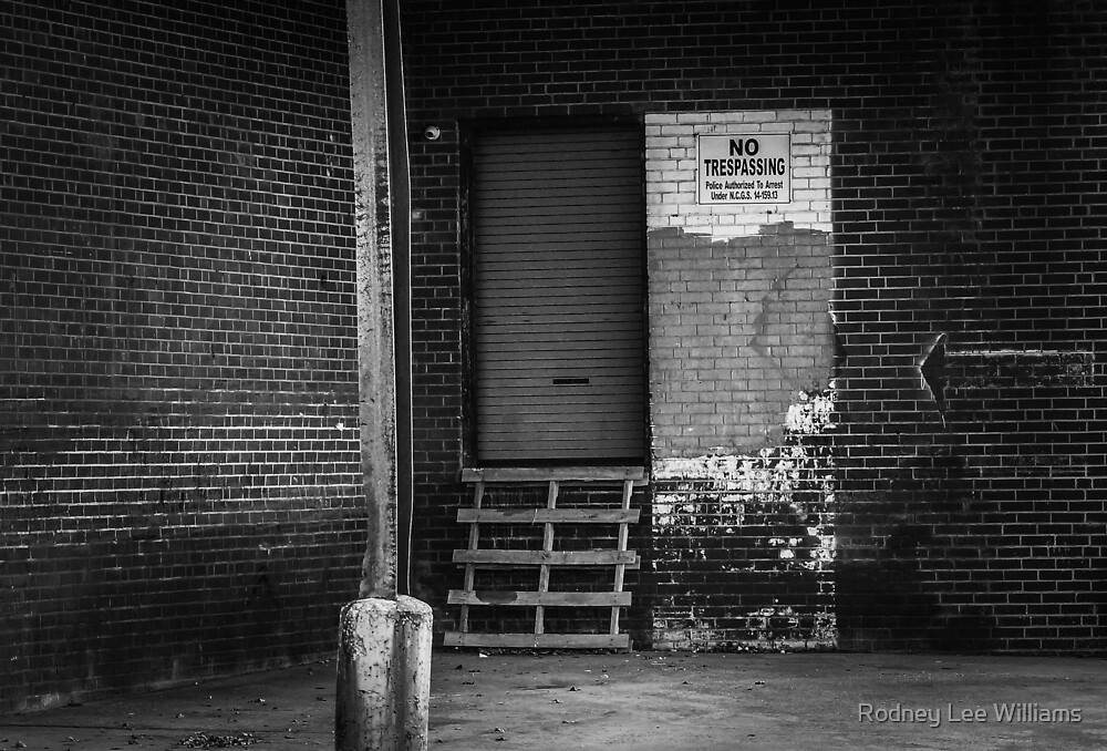 Don't Trespass by Rodney Lee Williams
