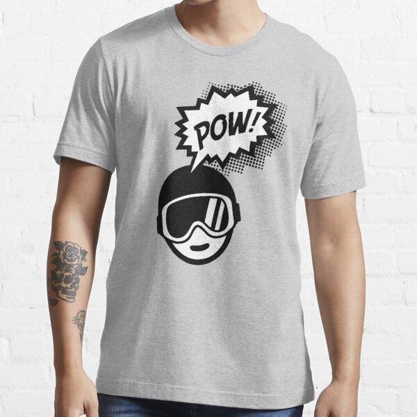 Pow Day! Powder Ski Board Let it Snow! Essential T-Shirt