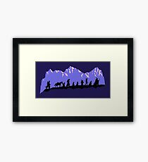 Fellowship in the evening Framed Print