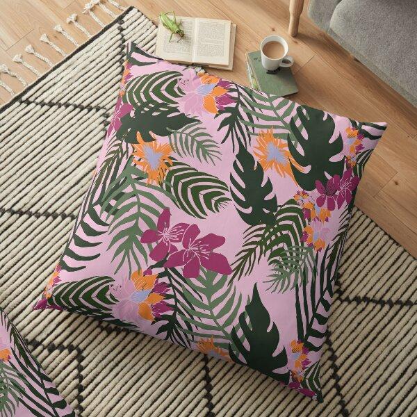 Jungle Love Floor Pillow