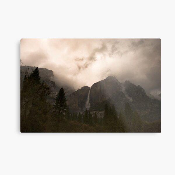 Yosemite Storm Metal Print