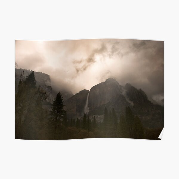 Yosemite Storm Poster