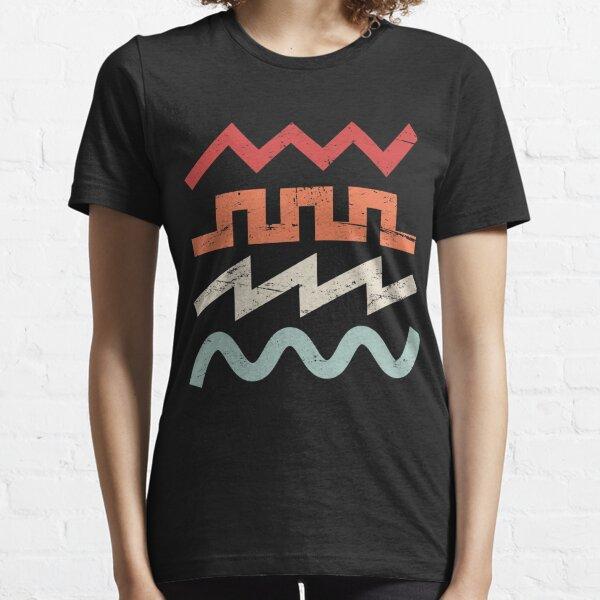 Retro Synth Waveforms Essential T-Shirt